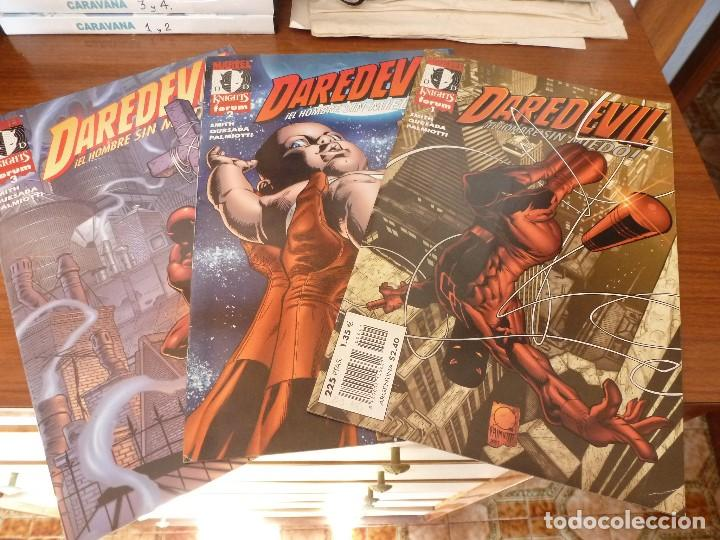 (XM) DAREDEVIL Nª: 1 ,2 Y 3. MARVEL KNIGHTS FORUM-EDICIÓN 1999. (Tebeos y Comics - Forum - Daredevil)