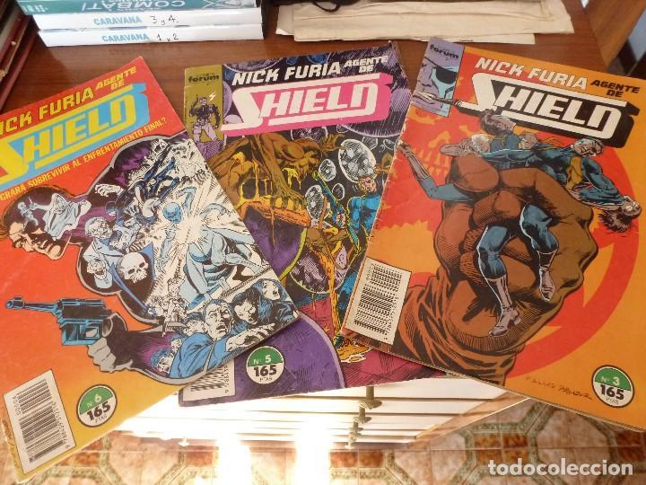 (XM)NICK FURIA Nª:3,5 Y 6-COMICS FORUM EDICION-1990. (Tebeos y Comics - Forum - Furia)