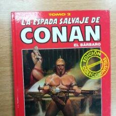 Cómics: ESPADA SALVAJE DE CONAN TOMO #2 (TAPA ROJA). Lote 262373850