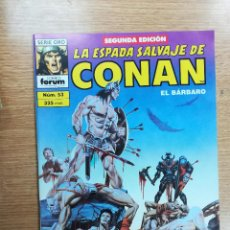 Cómics: ESPADA SALVAJE DE CONAN VOL 1 #53 SEGUNDA EDICION. Lote 103843363