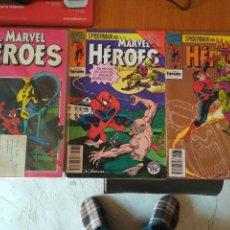 Cómics: SPIDERMAN MARVEL HEROES 71 72 73 74 75 76 Y 77 EL NIÑO QUE LLEVAS DENTRO COMPLETA FORUM VER FOTOS. Lote 103846107