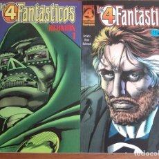 Cómics: LOS 4 FANTASTICOS REUNION Nº1 Y 2 COMPLETA DEL VOLUMEN 1 DE FORUM IMPECABLES. Lote 103855107