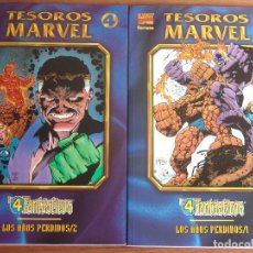 Cómics: LOS 4 FANTASTICOS LOS AÑOS PERDIDOS Nº1 Y 2 COMPLETA VOL1 DE FORUM . Lote 103857039