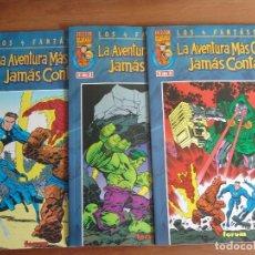 Cómics: LOS 4 FANTASTICOS LA AVENTURA MAS GRANDE JAMAS CONTADA COMPLETA VOL1 DE FORUM . Lote 103857811