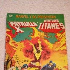 Cómics: LA PATRULLA-X Y LOS NUEVOS TITANES. MARVEL Y DC PRESENTAN. EDICIONES FORUM 1989.. Lote 103870103