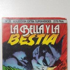 Cómics: COLECCION EXTRA SUPERHEROES 12 LA BELLA Y LA BESTIA . Lote 103919691