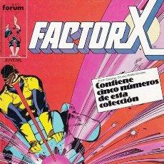 Cómics: FACTOR X Nº 3 (RETAPADO) COMICS FORUM (CONTIENE NÚMEROS 11 A 15). Lote 103960435