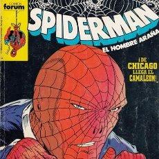 Cómics: SPIDERMAN Nº 41 (RETAPADO) 1 TOMO COMICS FORUM (CONTIENE NÚMEROS 201 A 205). Lote 103961595
