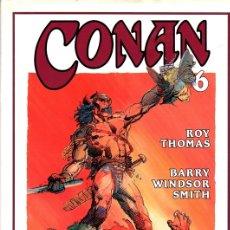 Cómics: CONAN 6. ROY THOMAS. BARRY WINDSOR SMITH. COL. NOVELA GRAFICA FORUM. AÑO 1994. Lote 104123368