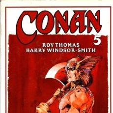 Cómics: CONAN 5. ROY THOMAS. BARRY WINDSOR-SMITH. COL. NOVELA GRAFICA FORUM. AÑO 1995. Lote 104124019