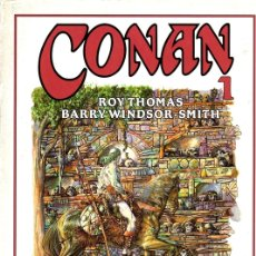Cómics: CONAN 1. ROY THOMAS. BARRY WINDSOR. COL. NOVELA GRAFICA FORUM. AÑO 1994. Lote 104124491