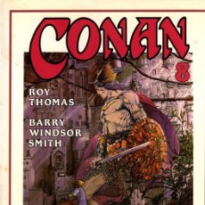 Cómics: CONAN 8. ROY THOMAS. BARRY WINDSOR. COL. NOVELA GRAFICA FORUM. AÑO 1994. Lote 104124902