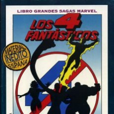 Cómics: GARNDES SAGAS MARVEL 10 LOS 4 CUATRO FANTÁSTICOS EL PRINCIPIO DEL FIN 1994 DEFALCO Y RYAN. Lote 104187971