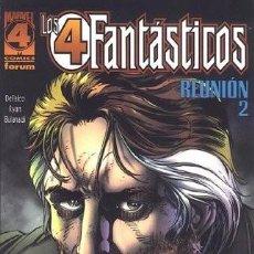 Cómics: LOS 4 FANTÁSTICOS REUNIÓN TOMO 2 - DEFALCO RYAN - CUATRO - FORUM. Lote 104188159