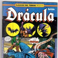 Cómics: FORUM MARVEL - CLASICOS DEL TERROR DRACULA - NUMERO 14. Lote 104249951