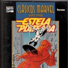 Cómics: CLASICOS MARVEL BLANCO Y NEGRO ESTELA PLATEADA LEE BUSCEMA. Lote 104250787