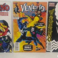 Cómics: COMIC VENENO ENEMIGO INTERIOR DEL 1 AL 3. Lote 104265160