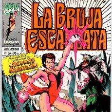 Cómics: LA BRUJA ESCARLATA. SERIE LIMITADA DE 4 NUMEROS. COMPLETA. AÑO 1994. Lote 104266750