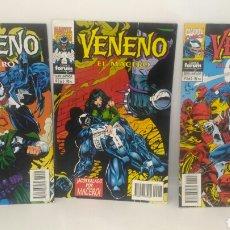 Cómics: COMIC VENENO EL MACERO DEL 1 AL 3 FORUM. Lote 104267080