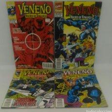 Cómics: COMIC VENENO NOCHES DE VENGANZA DEL 1 AL 4 FORUM. Lote 104268536