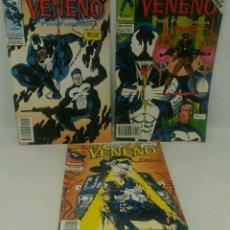 Cómics: COMIC VENENO PIRA FUNERARIA DEL 1 AL 3 FORUM. Lote 104269379