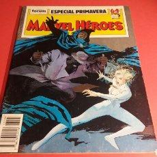 Cómics: MARVEL HEROES ESPECIAL PRIMAVERA EN BUEN ESTADO FORUM. Lote 104279355