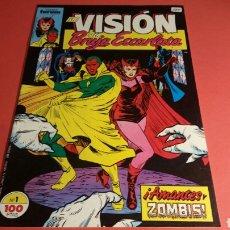 Cómics: LA VISION Y LA BRUJA ESCARLATA 1 EN BUEN ESTADO FORUM. Lote 104279523