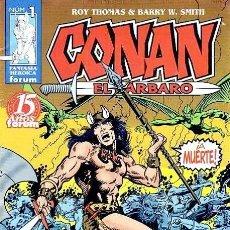 Cómics: CONAN EL BARBARO. 98 NUMEROS. COMPLETA. 1998 -2001 FORUM. Lote 104392695