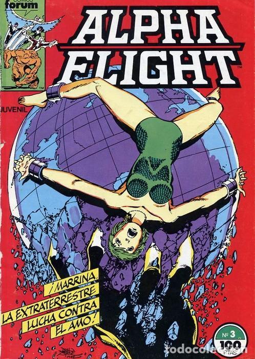 ALPHA FLIGHT VOL.1 Nº 3 - FORUM (Tebeos y Comics - Forum - Alpha Flight)
