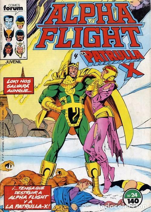 ALPHA FLIGHT VOL.1 Nº 24 PATRULLA X - FORUM (Tebeos y Comics - Forum - Alpha Flight)