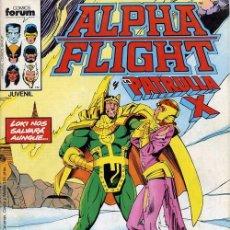Cómics: ALPHA FLIGHT VOL.1 Nº 24 PATRULLA X - FORUM. Lote 104445671
