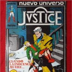 Cómics: COMICS JUSTICE N° 6. Lote 104467238