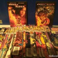 Cómics: MOTORISTA FANTASMA VOL. 1 FORUM DEL 1 AL 33 + 2 DVD GRATIS. Lote 104534223