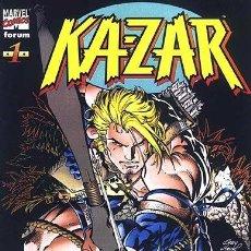 Cómics: KA-ZAR. 14 NUMEROS. ANDY KUBERT. 1998-1999. FORUM. Lote 104658723