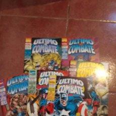 Cómics: CAPITAN AMERICA ULTIMO COMBATE 1 AL 6 COMPLETA. Lote 104732779