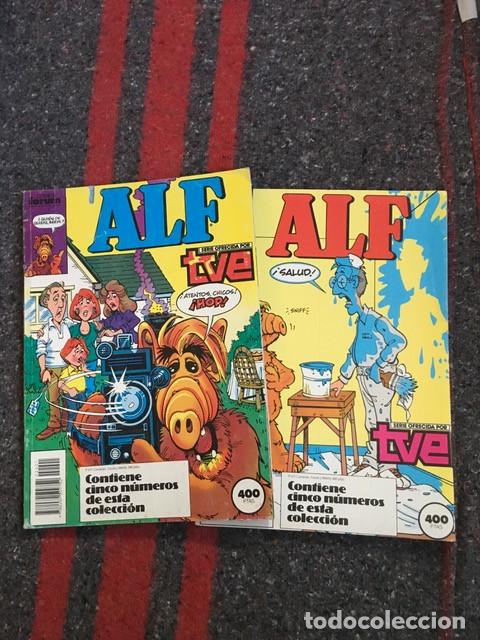 ALF NºS 1 2 3 4 5 6 7 8 9 Y 10 EN DOS RETAPADOS (Comics und Tebeos - Forum - Andere Forum)