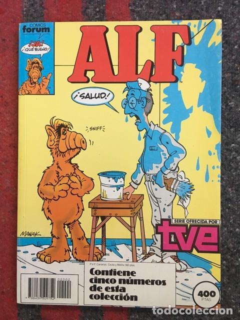 Comics: Alf nºs 1 2 3 4 5 6 7 8 9 y 10 en dos retapados - Foto 4 - 104864595