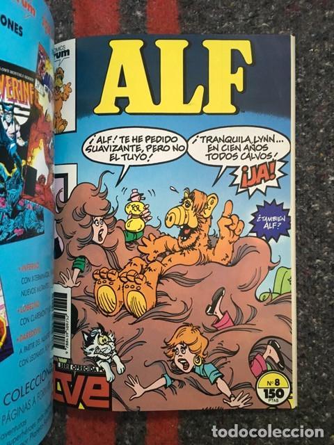Comics: Alf nºs 1 2 3 4 5 6 7 8 9 y 10 en dos retapados - Foto 7 - 104864595