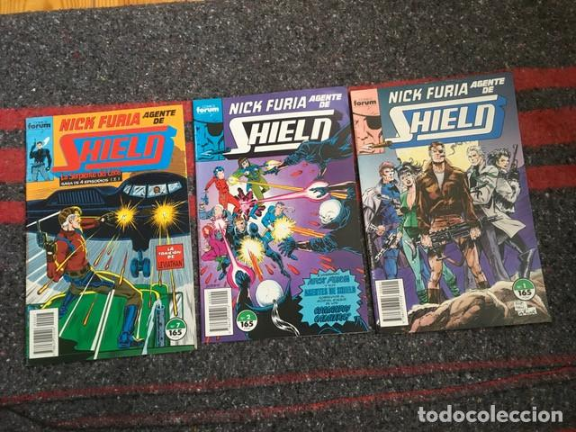 LOTE DE 2 COMICS NICK FURIA AGENTE DE SHIELD 1 Y 2 (Tebeos y Comics - Forum - Furia)