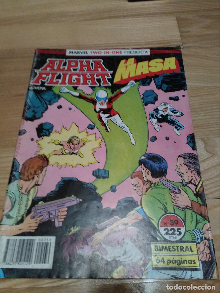 COMIC ALPHA FLIGHT + HULK LA MASA Nº 39 FORUM PLANETA (Tebeos y Comics - Forum - Alpha Flight)