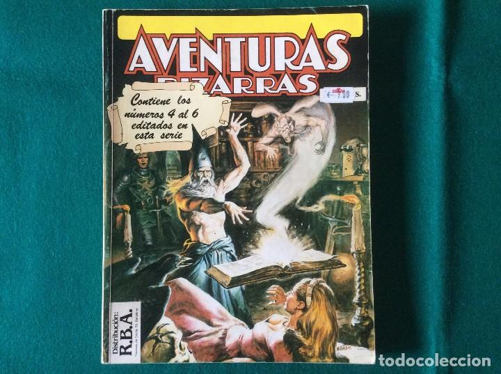 AVENTURAS BIZARRAS RETAPADO NÚMEROS 4 5 Y 6 DISTRIBUCIÓN R.B.A. EDICIONES FORUM (Tebeos y Comics - Forum - Retapados)