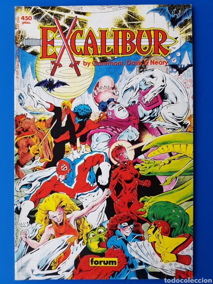 EXCALIBUR (ESPADA EN ALTO) N°1 - COLECCIÓN PRESTIGIO - FORUM - 1989 (Tebeos y Comics - Forum - Prestiges y Tomos)