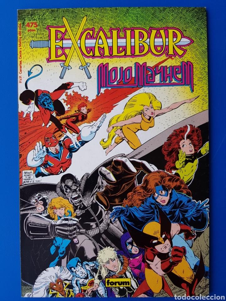EXCALIBUR II (MOJO MAYHEM/DESASTRE) N°8 - COLECCIÓN PRESTIGIO - FORUM - 1990 (Tebeos y Comics - Forum - Prestiges y Tomos)