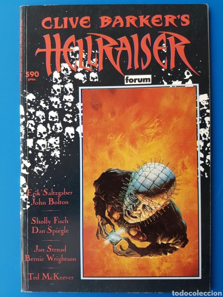 HELLRAISER N°10 - COLECCIÓN PRESTIGIO - FORUM - 1990 (Tebeos y Comics - Forum - Prestiges y Tomos)
