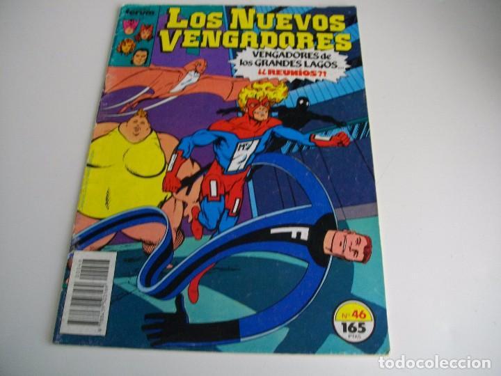 COMICS - LOS NUEVOS VENGADORES Nº 46- EL DE LAS FOTOS - VER TODOS MIS LOTES DE TEBEOS (Tebeos y Comics - Forum - Vengadores)