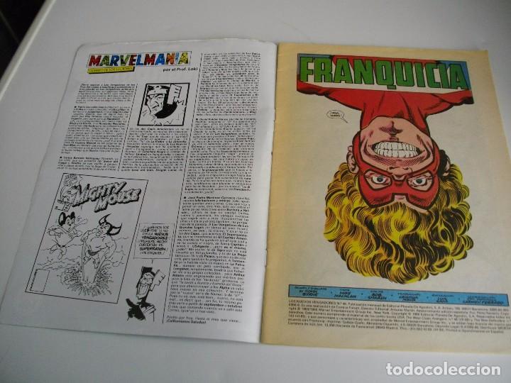Cómics: COMICS - LOS NUEVOS VENGADORES Nº 46- EL DE LAS FOTOS - VER TODOS MIS LOTES DE TEBEOS - Foto 2 - 105158187
