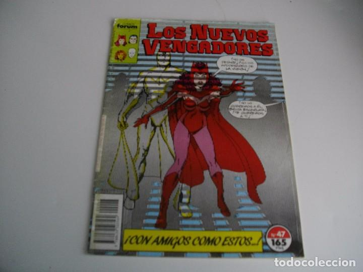 COMICS - LOS NUEVOS VENGADORES Nº 47- EL DE LAS FOTOS - VER TODOS MIS LOTES DE TEBEOS (Tebeos y Comics - Forum - Vengadores)