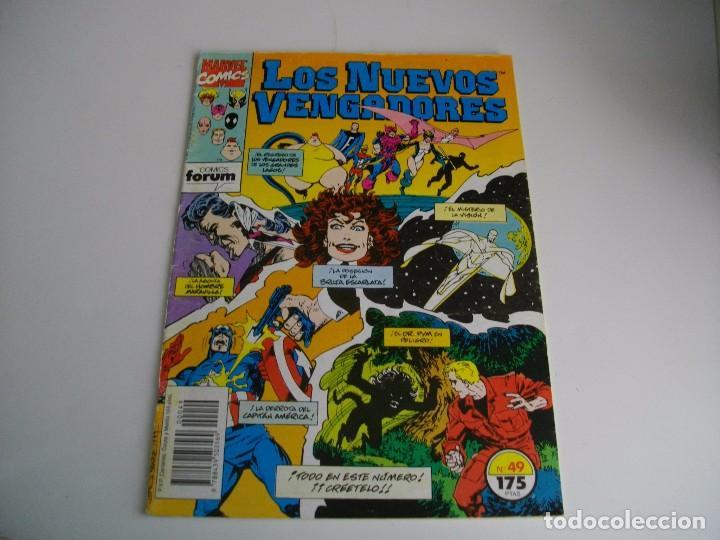 COMICS - LOS NUEVOS VENGADORES Nº 49 - EL DE LAS FOTOS - VER TODOS MIS LOTES DE TEBEOS (Tebeos y Comics - Forum - Vengadores)