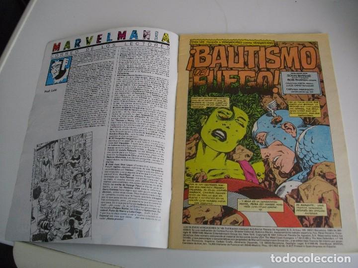 Cómics: COMICS - LOS NUEVOS VENGADORES Nº 49 - EL DE LAS FOTOS - VER TODOS MIS LOTES DE TEBEOS - Foto 2 - 105158663