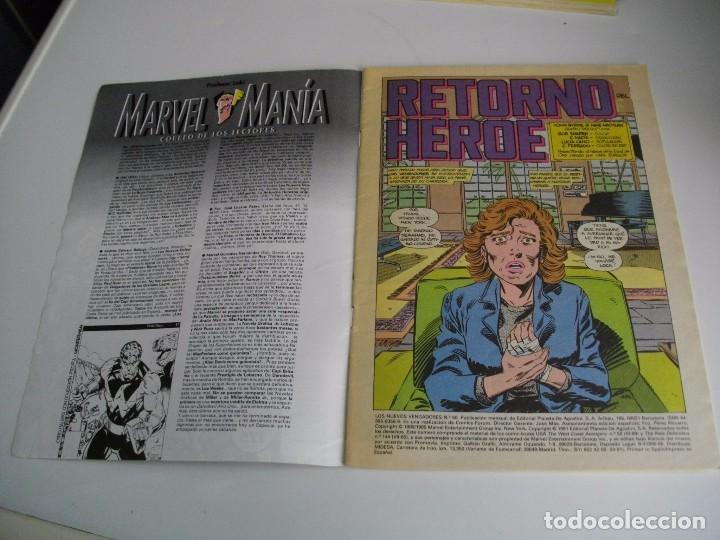 Cómics: COMICS - LOS NUEVOS VENGADORES Nº 50 - EL DE LAS FOTOS - VER TODOS MIS LOTES DE TEBEOS - Foto 2 - 105158799